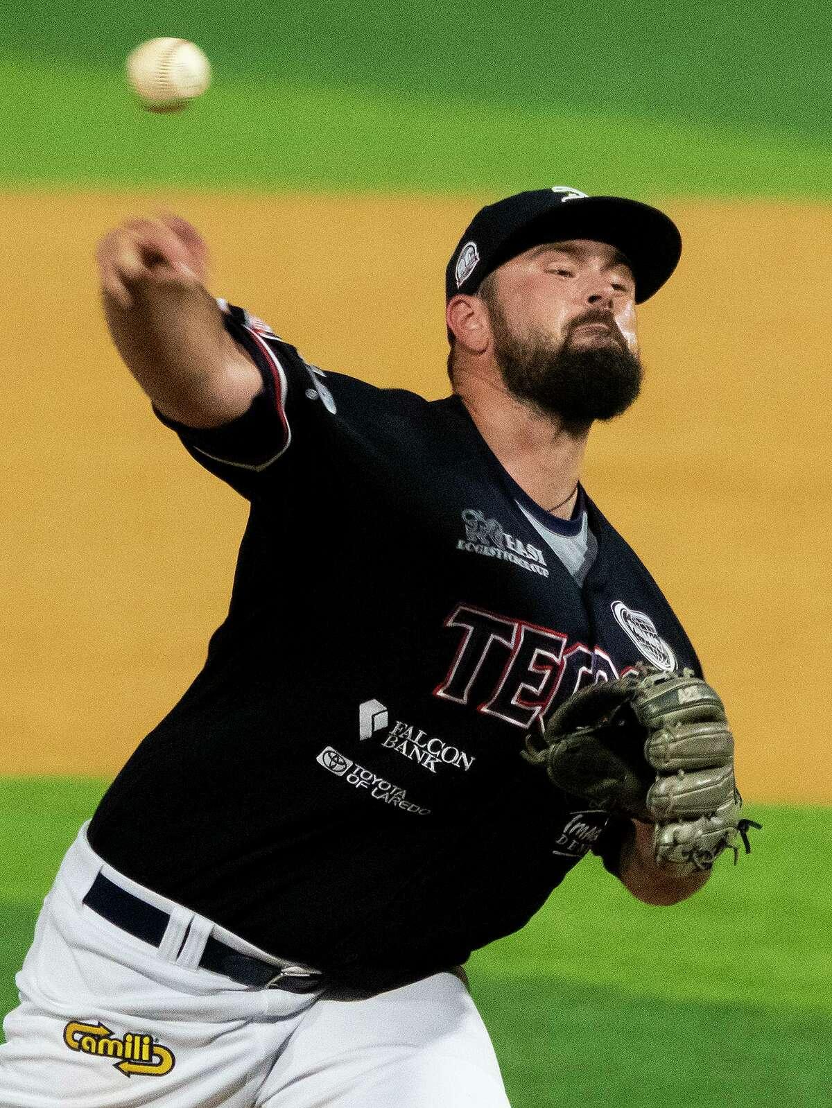 Starting pitcher Jackson Stephens recorded 11 strikeouts as the Tecolotes Dos Laredos blanked the Rieleros de Aguascalientes on Wednesday.