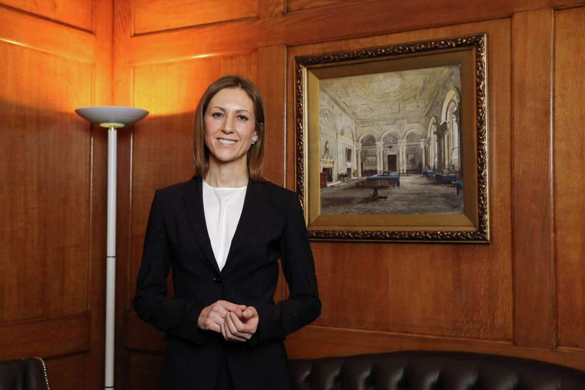 Silvana Tenreyro, member of the monetary policy committee at the Bank of England, poses for a photograph in London on Nov. 23, 2017.