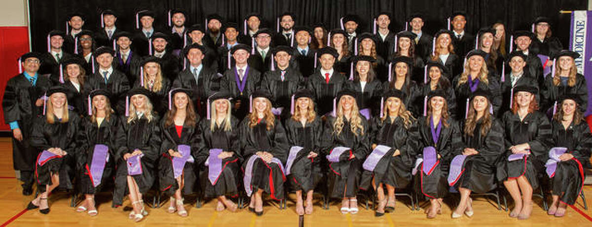 The Southern Illinois University School of Dental Medicine conferred doctor of dental medicine degrees on 56 students comprising the Class of 2021.