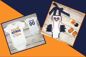 If these  Astros onesies  don't make you swoon, we don't know what will.