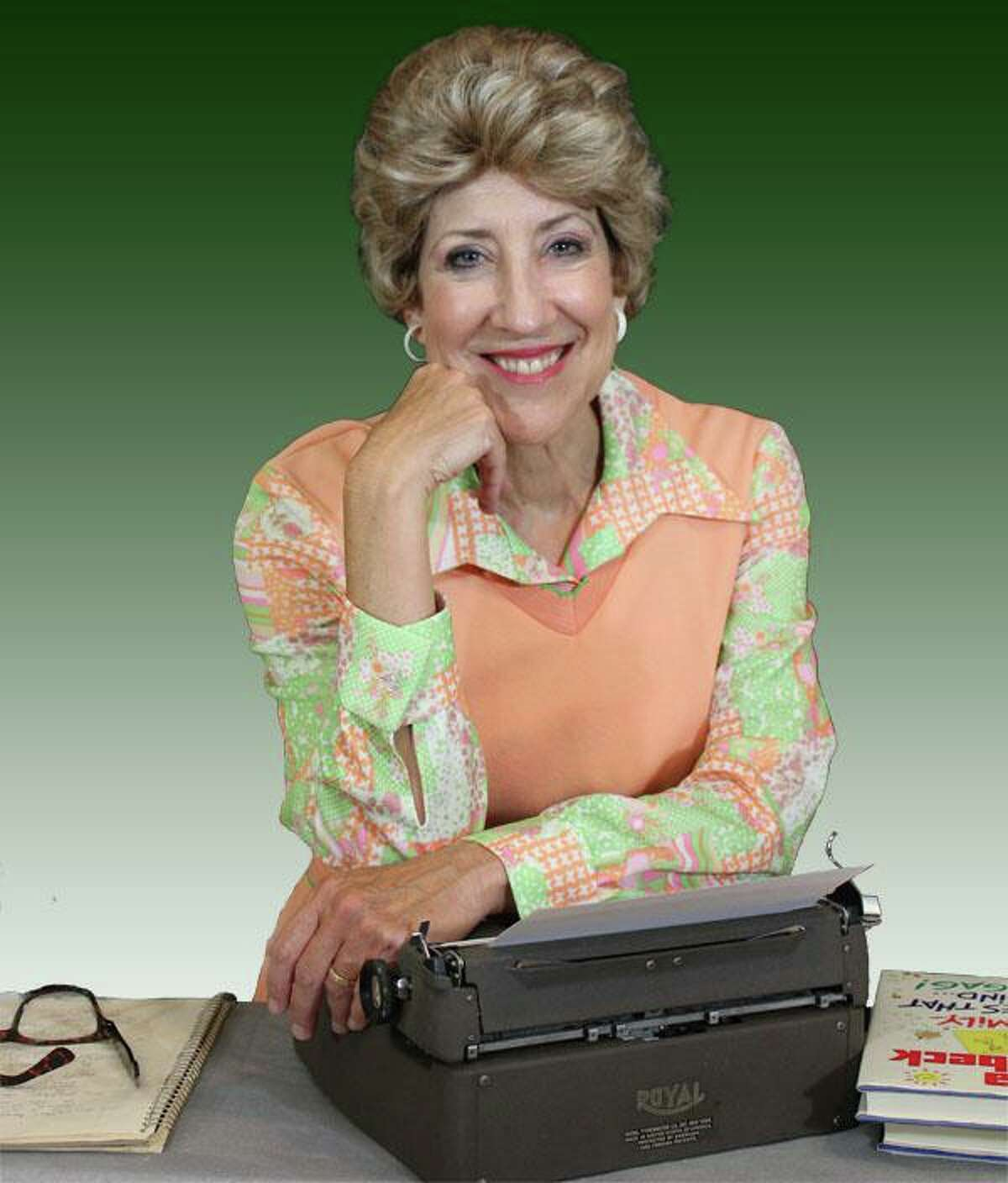 """Conroe actress Carolyn Wong presents the one-woman show """"Erma Bombeck: At Wit's End"""" June 25-27 at the Crighton Theatre in downtown Conroe."""