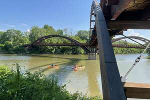 Nor'East Outdoors offered free lessons at the ribbon cutting ceremony on Tuesday, June 9 at the Tridge.
