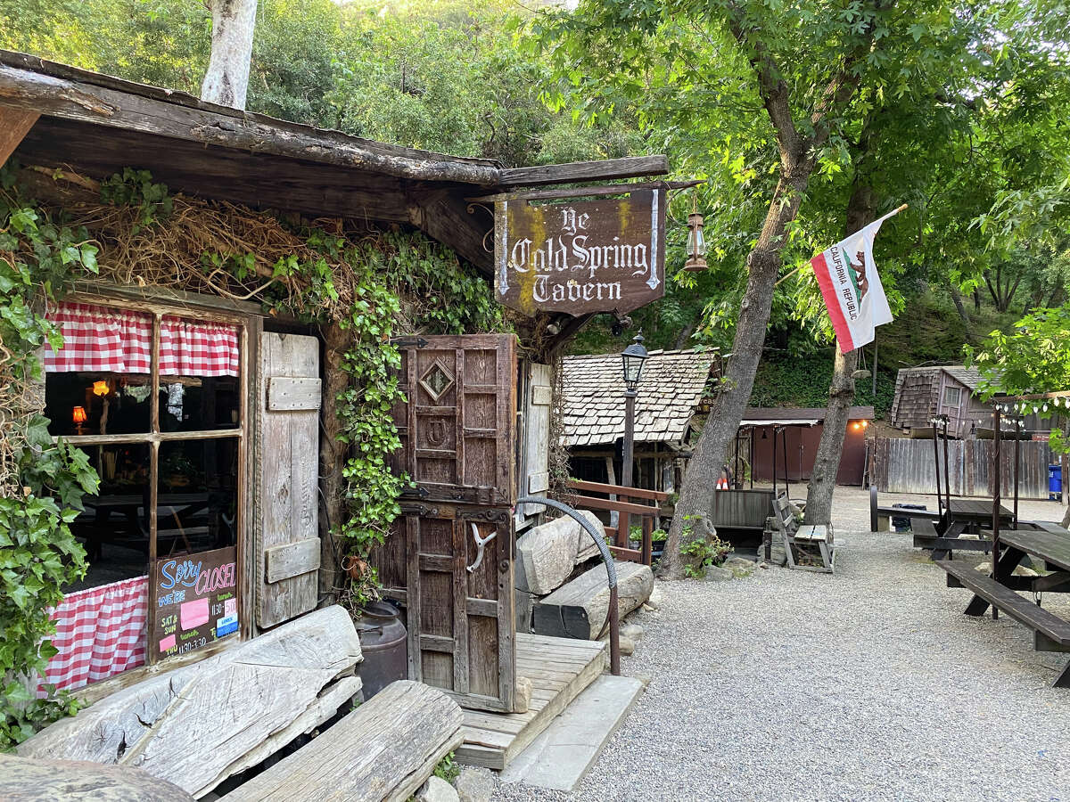 Cold Spring Tavern is mostly outdoors and has a few small indoor dining rooms.