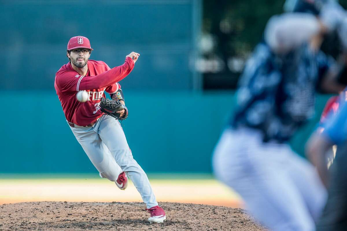 Stanford's Zach Grech worked 3-1/3 scoreless innings in the Cardinal's 8-4 loss to UC Irvine on Sunday.