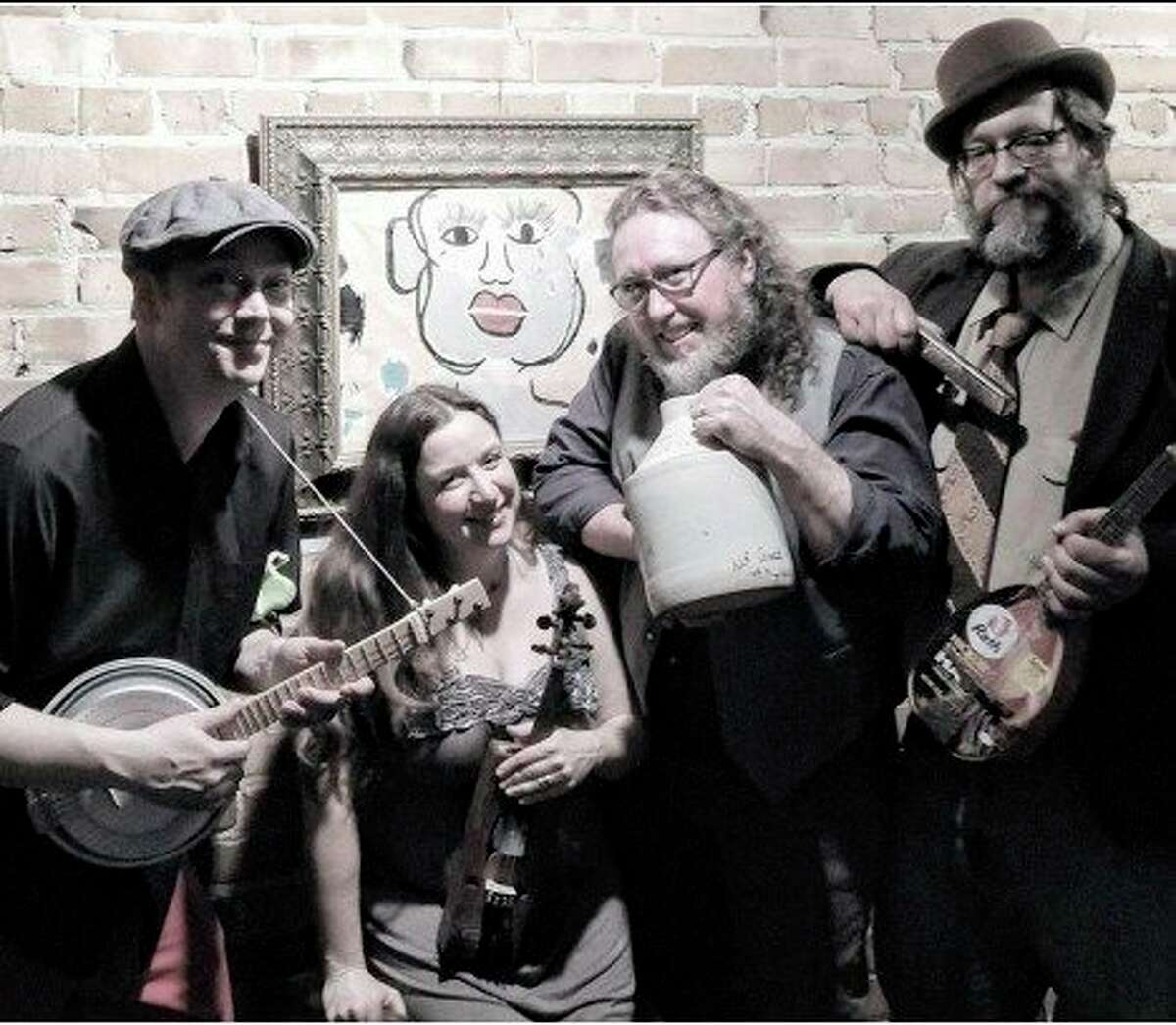 The Deep Fried Pickle Project Jug Bandcombines brilliant vocal arrangements with virtuosic performances on beautifully hand-crafted junk instruments. (Courtesy/Edward Mallett)