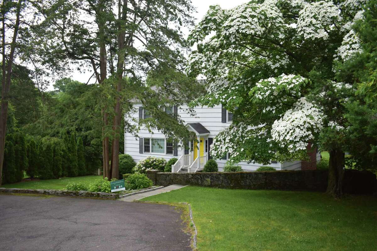 A Lockwood Road home in Greenwich, Conn., sold in May 2021 for $1.98 million, $20,000 below the price of the town's median home sale over the first five months of 2021.
