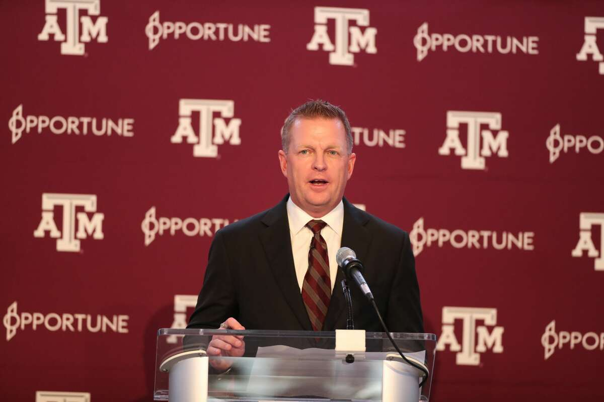 Jim Schlossnagle was introduced as the Aggies' new baseball coach on Thursday, June 10, 2021, in the Hall of Champions at Kyle Field.