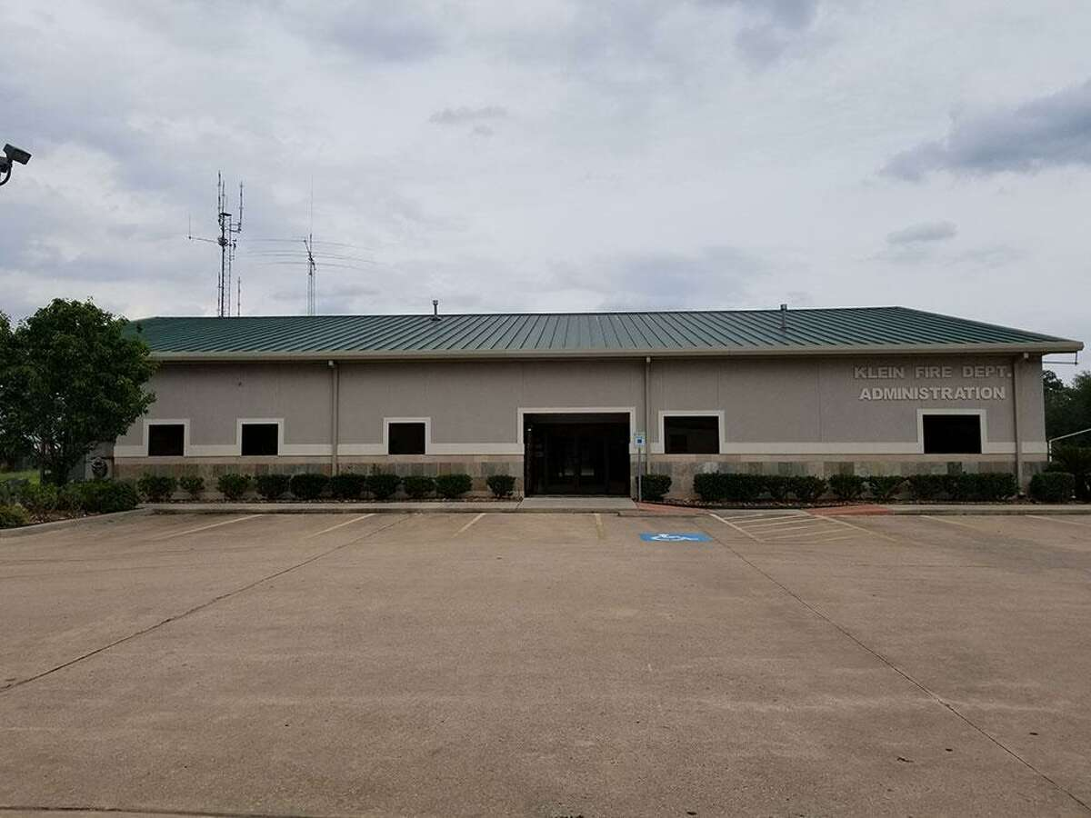 Klein Fire Department headquarters, 16810 Squyres Road, where a new 9-1-1 dispatch center is being built to serve five different Spring/Klein area fire departments.