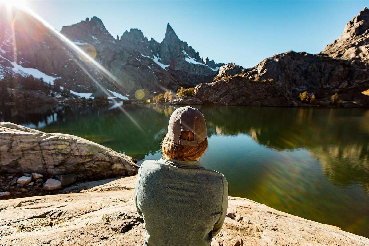 A view of Minaret Lake near Mammoth Lakes - the trailhead opens June 18.