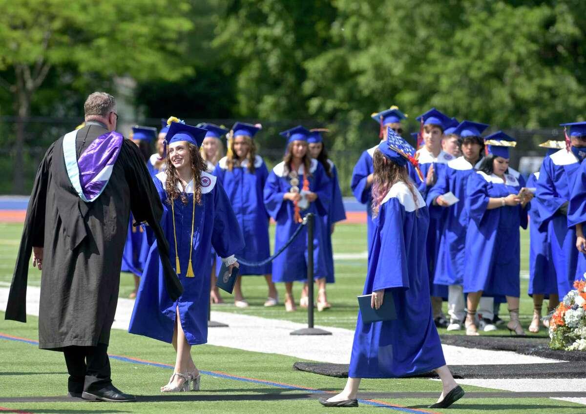 Danbury High School Class of 2021 Commencement Exercises. Thursday, June 10, 2021, at Danbury High School, Danbury, Conn.