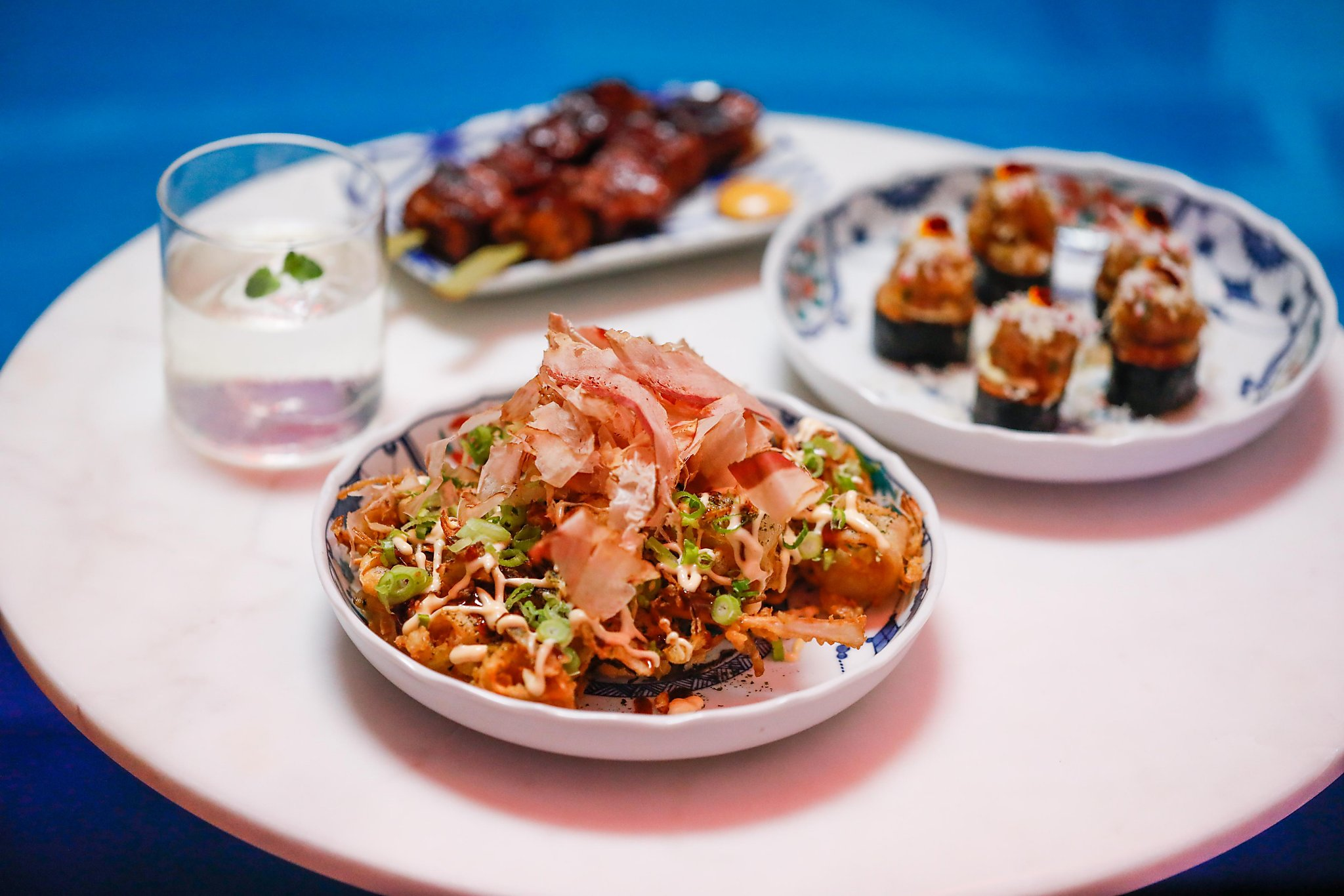 Food is magic at Viridian, Oakland's new neon pink bar spinning Asian American nostalgia