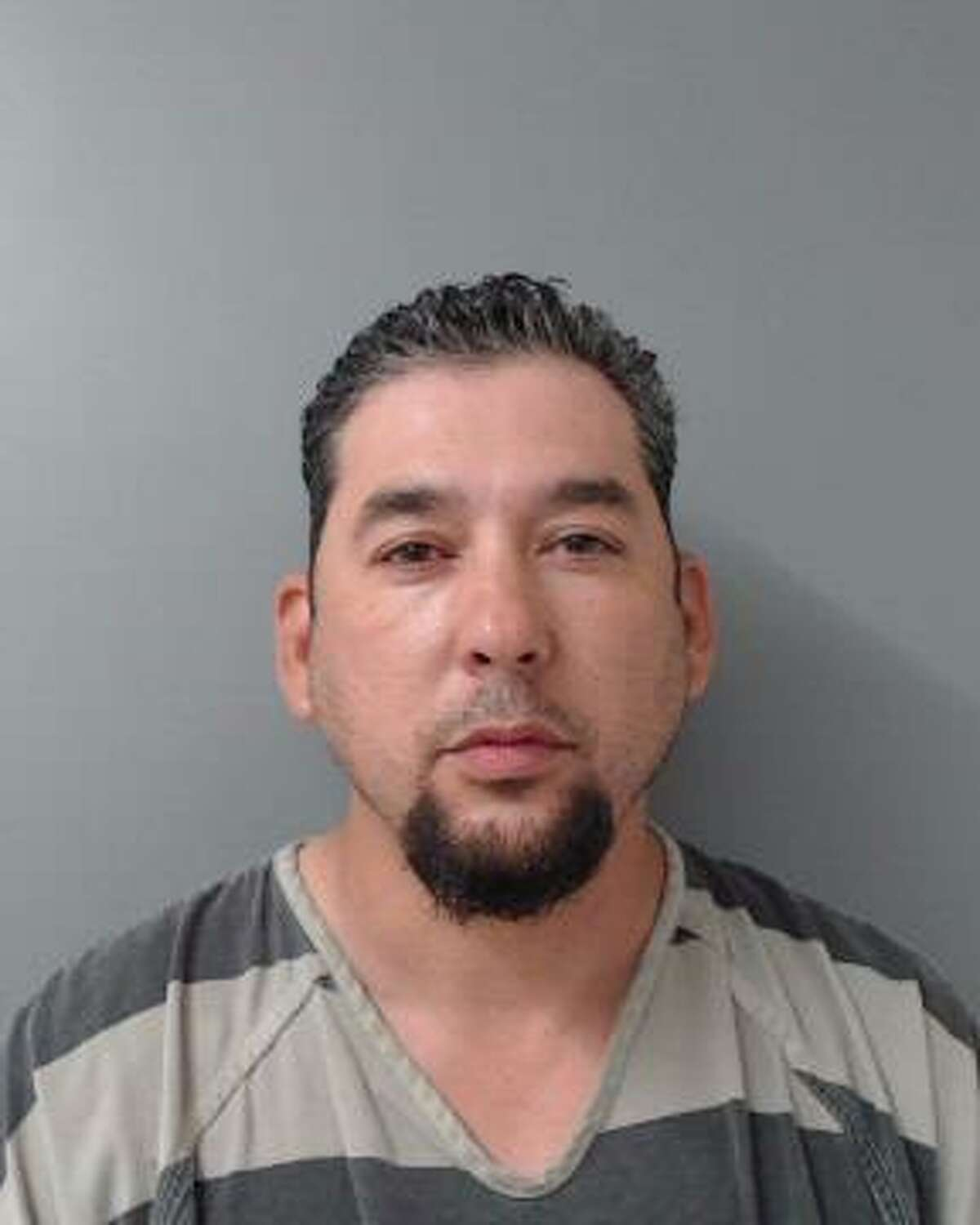 Jose Clemente Gutierrez Jr. was arrested for DWI after allegedly disregarding officers who were blocking off southbound traffic after a two-vehicle crash reported Wednesday night along Bob Bullock Loop.