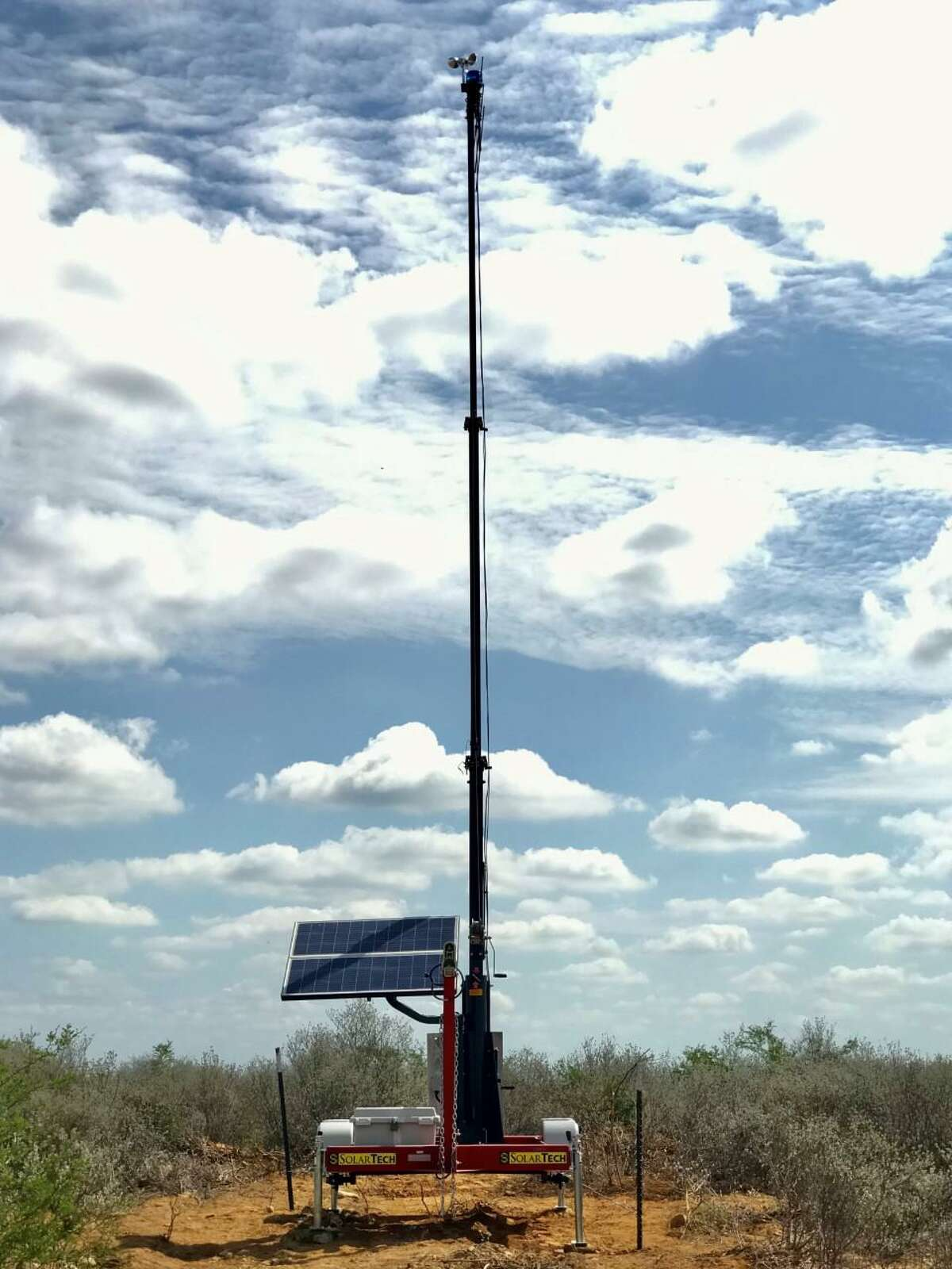 U.S. Border Patrol agents said mobile rescue beacons are designed to aid individuals in distress and are strategically placed in rural areas to reduce the loss of lives.