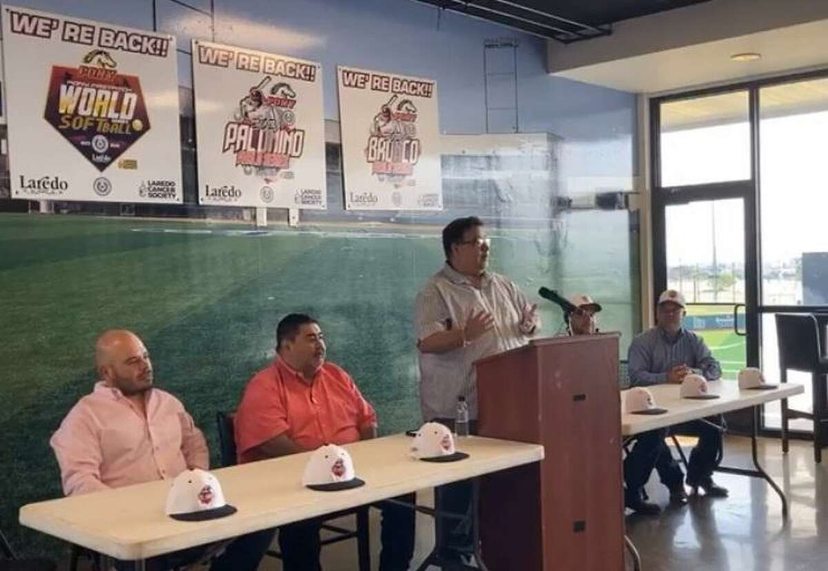 Laredo PONY and the City of Laredo announced Thursday that the city will host the Bronco 12U and Palomino 18U World Series events from July 29 to Aug. 2.
