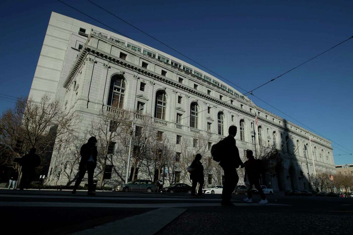 The Earl Warren Building, headquarters of the Supreme Court of California, in San Francisco. The state Supreme Court allowed Gov. Newsom on Wednesday to grant clemency and parole eligibility to a man convicted of murdering an El Cerrito restaurant worker during a 1980 robbery.
