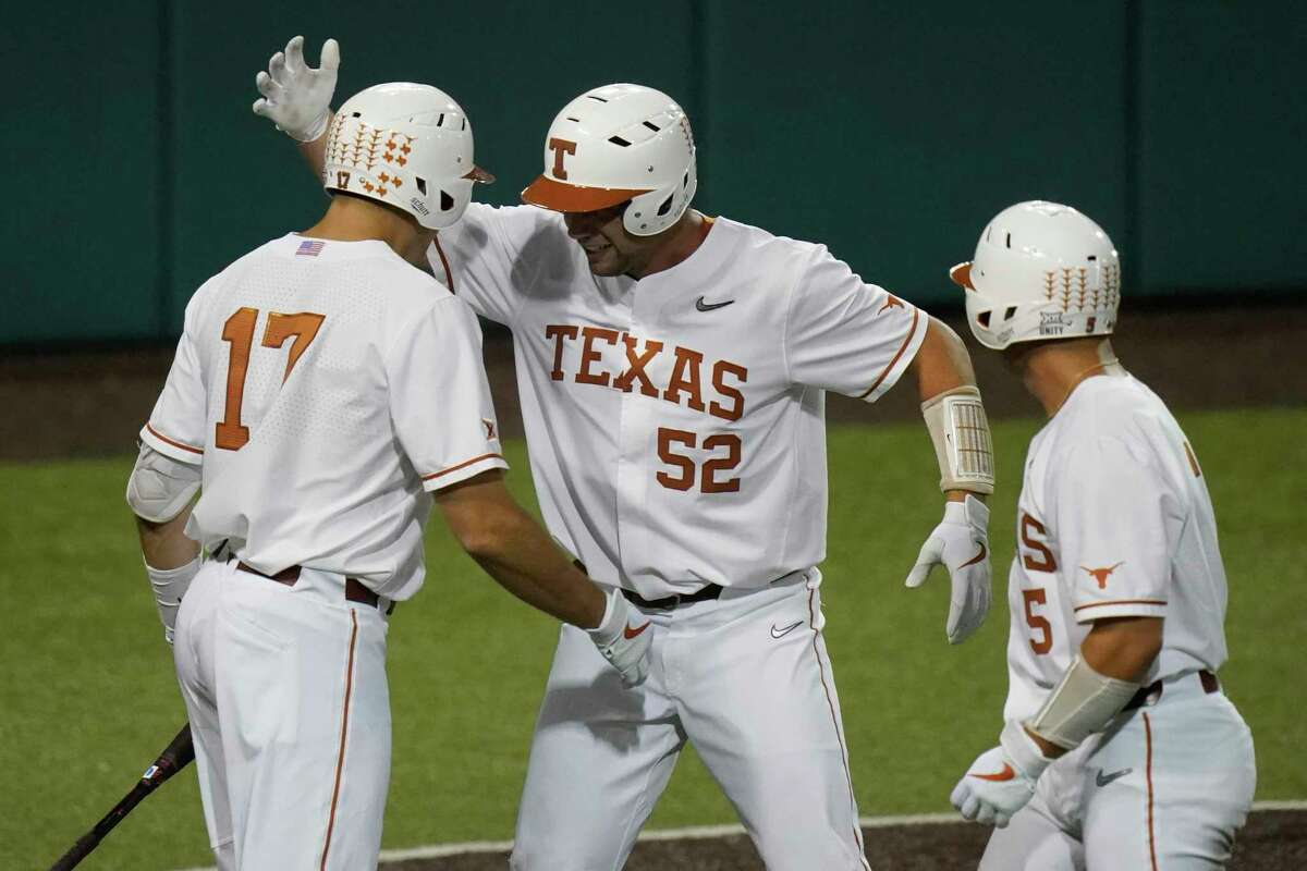 Zach Zubia (52) is one of only two active Longhorns who played in UT's run to the 2018 College World Series.
