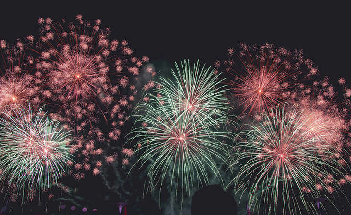 Fireworks light up the sky at Beverly Farm in this file photo. Beverly Farm fireworks are set for 9:30 a.m. Sunday, June 27. Guests can arrive as early as 8:30 p.m. to pick their viewing spot; blankets and lawn chairs are welcome.