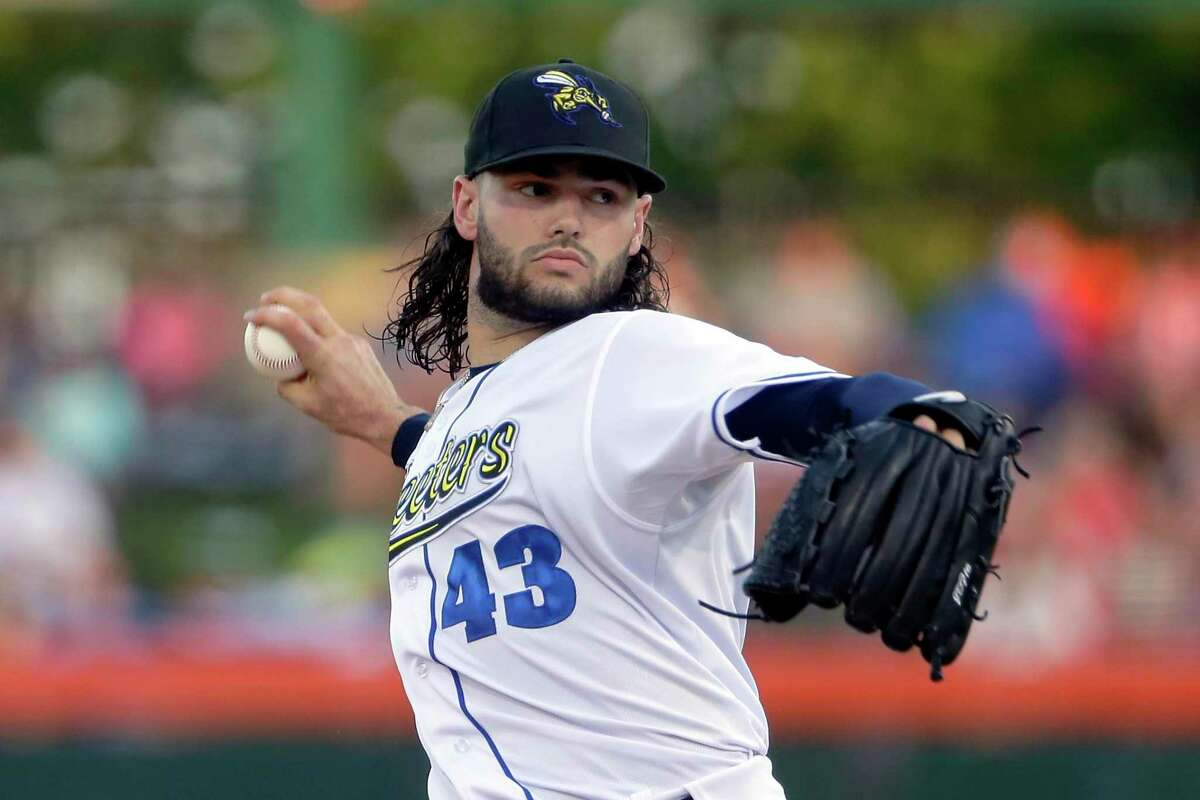 Lance McCullers threw 64 pitches in his four innings with the Skeeters, retiring the final 10 batters he faced Thursday night against Round Rock.