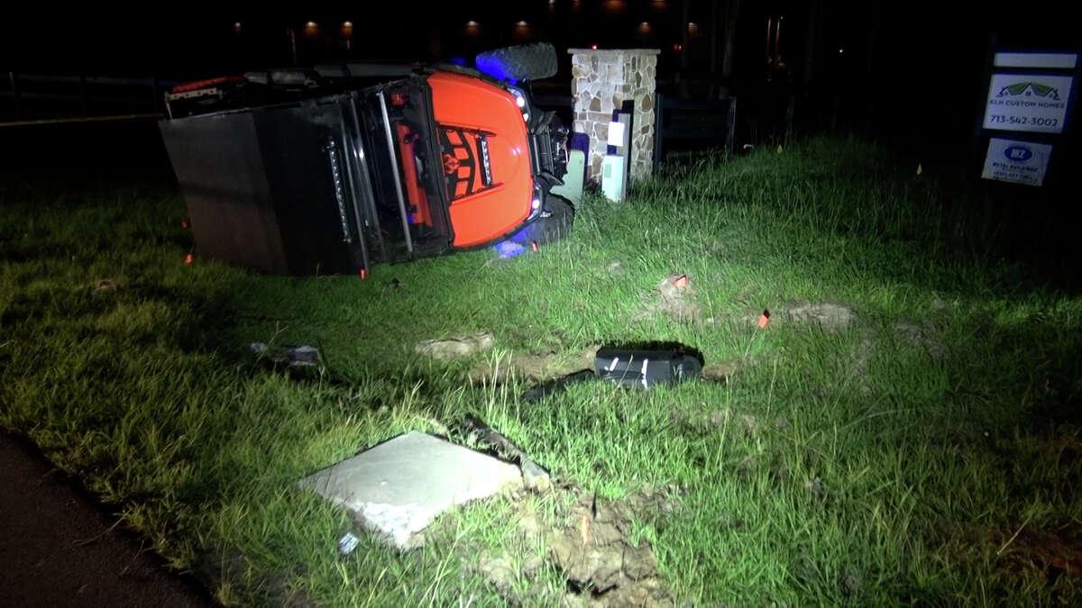 One girl died Thursday, June 10, 2021, in a UTV crash in Montgomery.