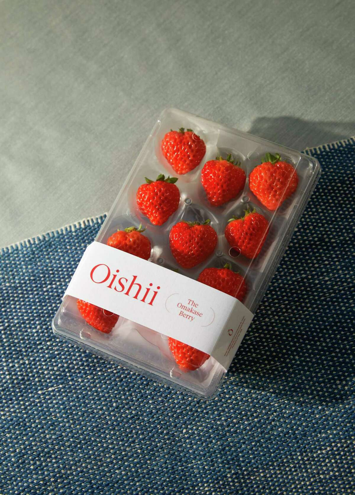 Oishii's Omakase Berries cost $50 for a package of eight.