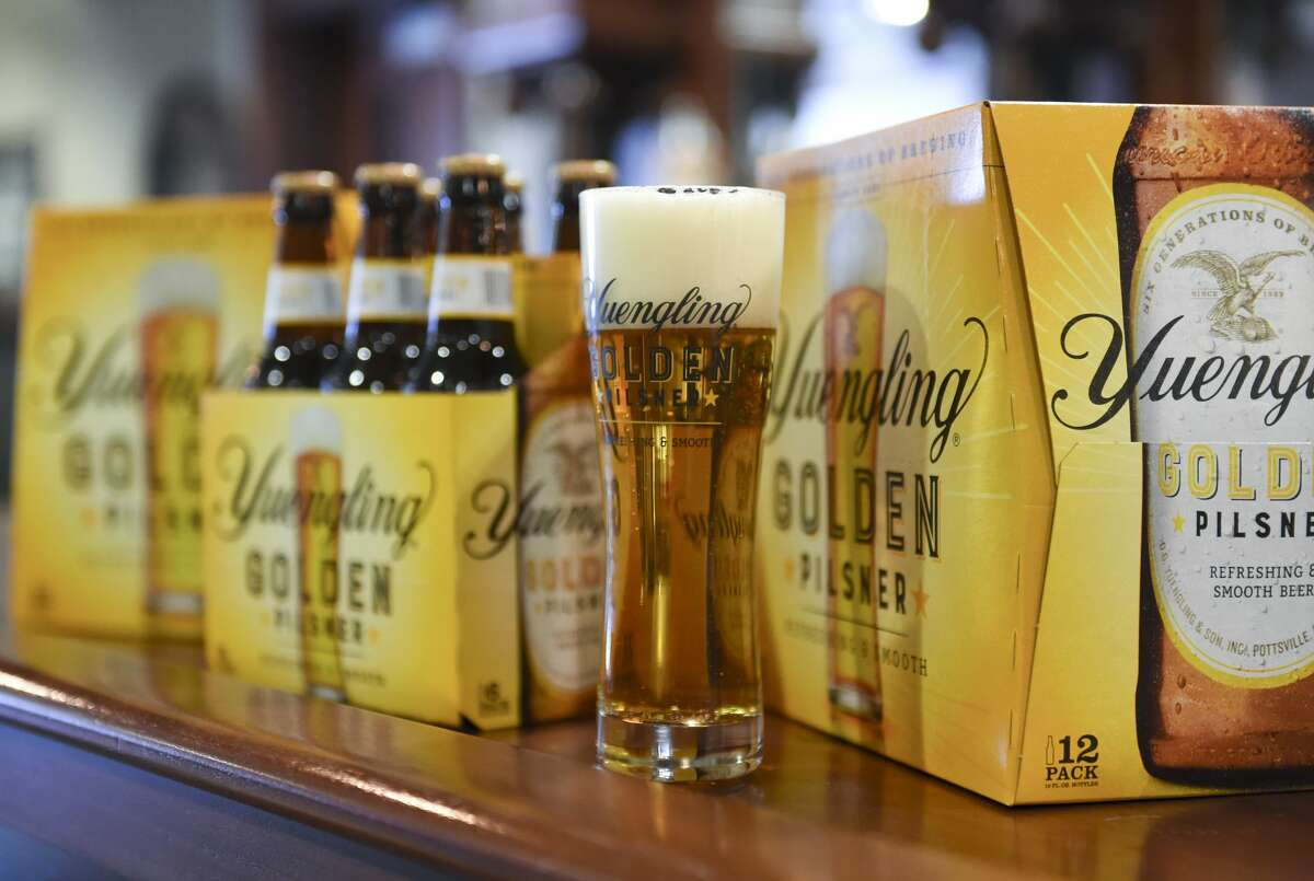 Yuengling's Golden Pilsner will be one of Yuengling's beers available in Texas starting later this summer. (Photo By Lauren A. Little/MediaNews Group/Reading Eagle via Getty Images)