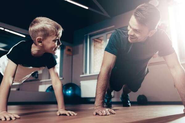Keep dad as fit as a fiddle - or at least try.