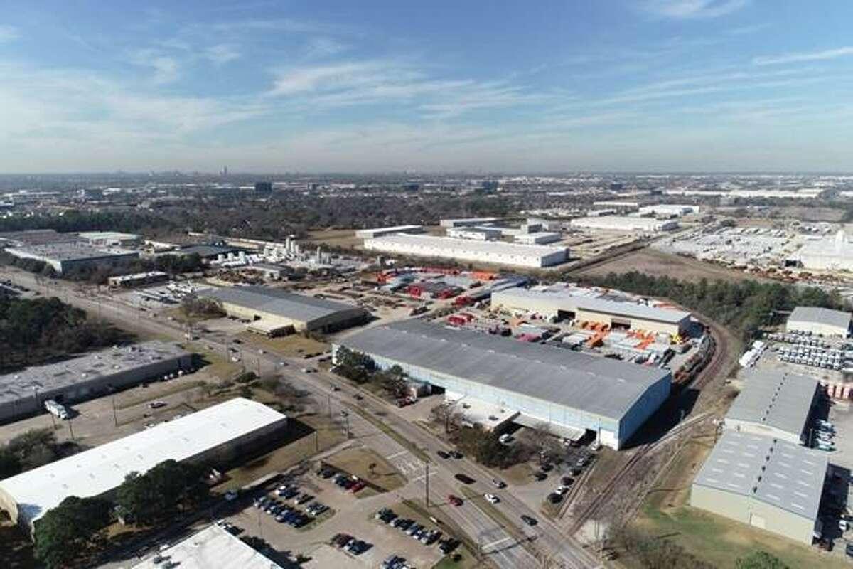 Hannibal Industries manufactures steel pallet rack at 6501 Bingle Road in northwest Houston.