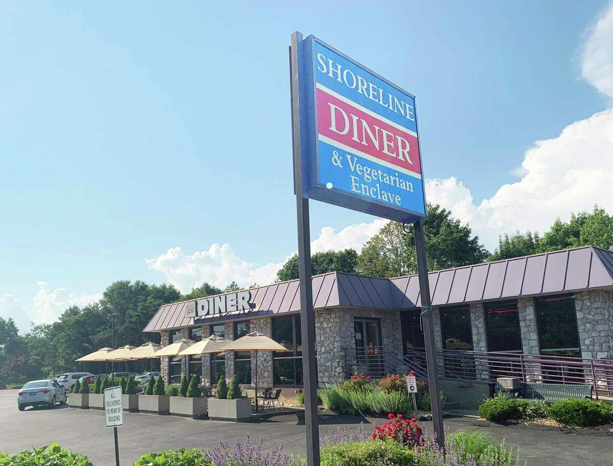 The Shoreline Diner is located at 345 Boston Post Road in Guilford.