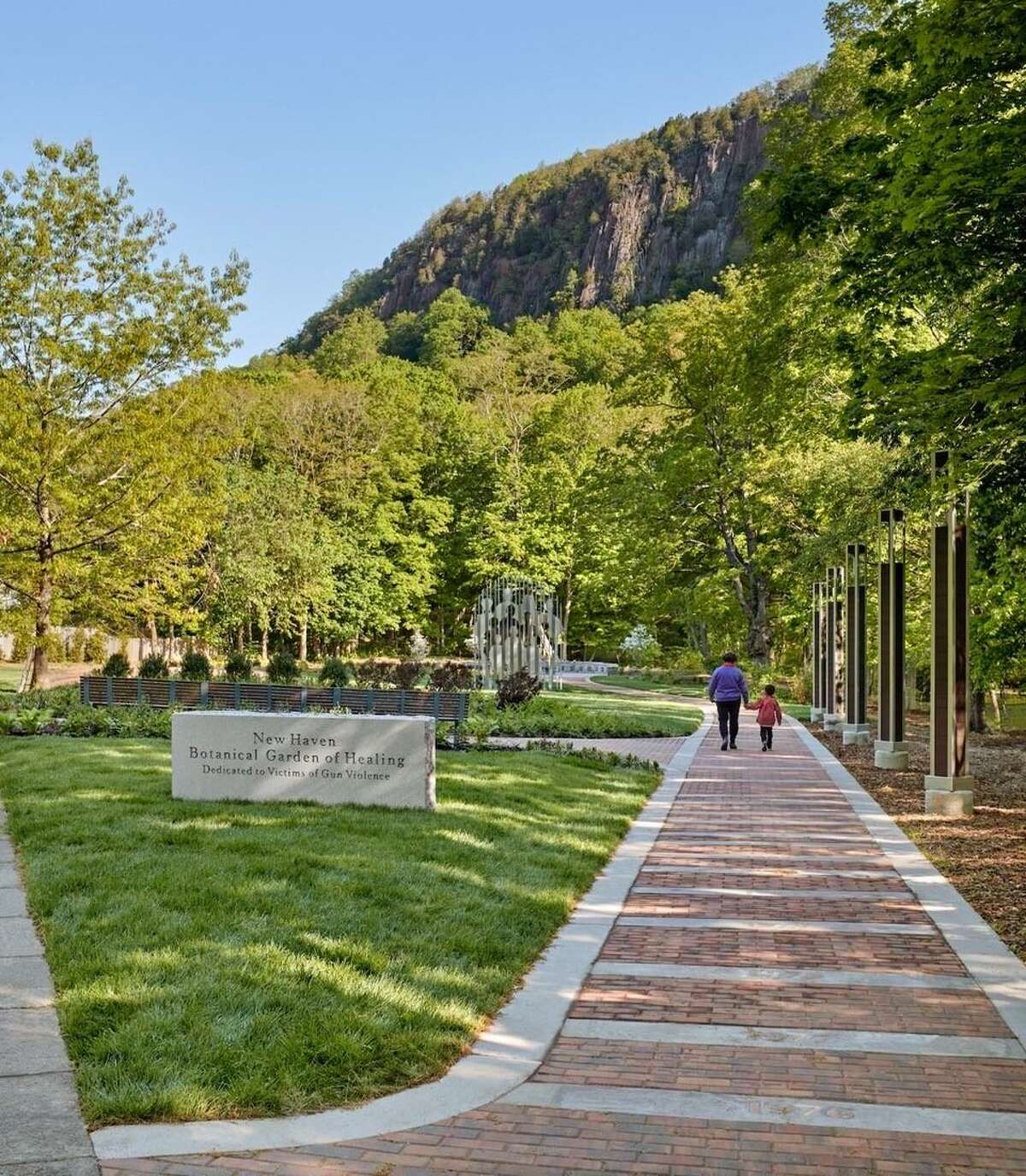 The New Haven Botanical Garden of Healing Dedicated to Victims of Gun Violence, created by mothers who have lost loved ones, will be dedicated Saturday.