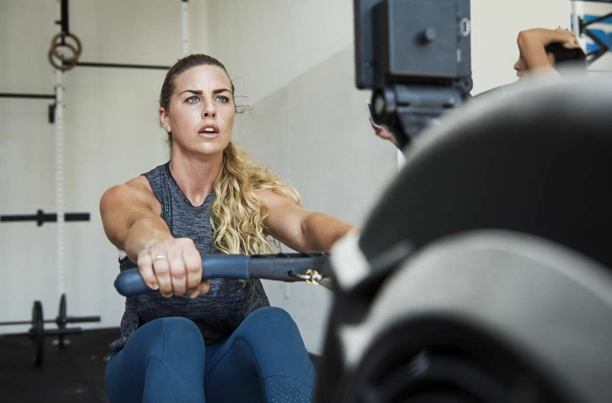 A sister is upset that her brother is trying to recover a rowing machine he previously lent her.