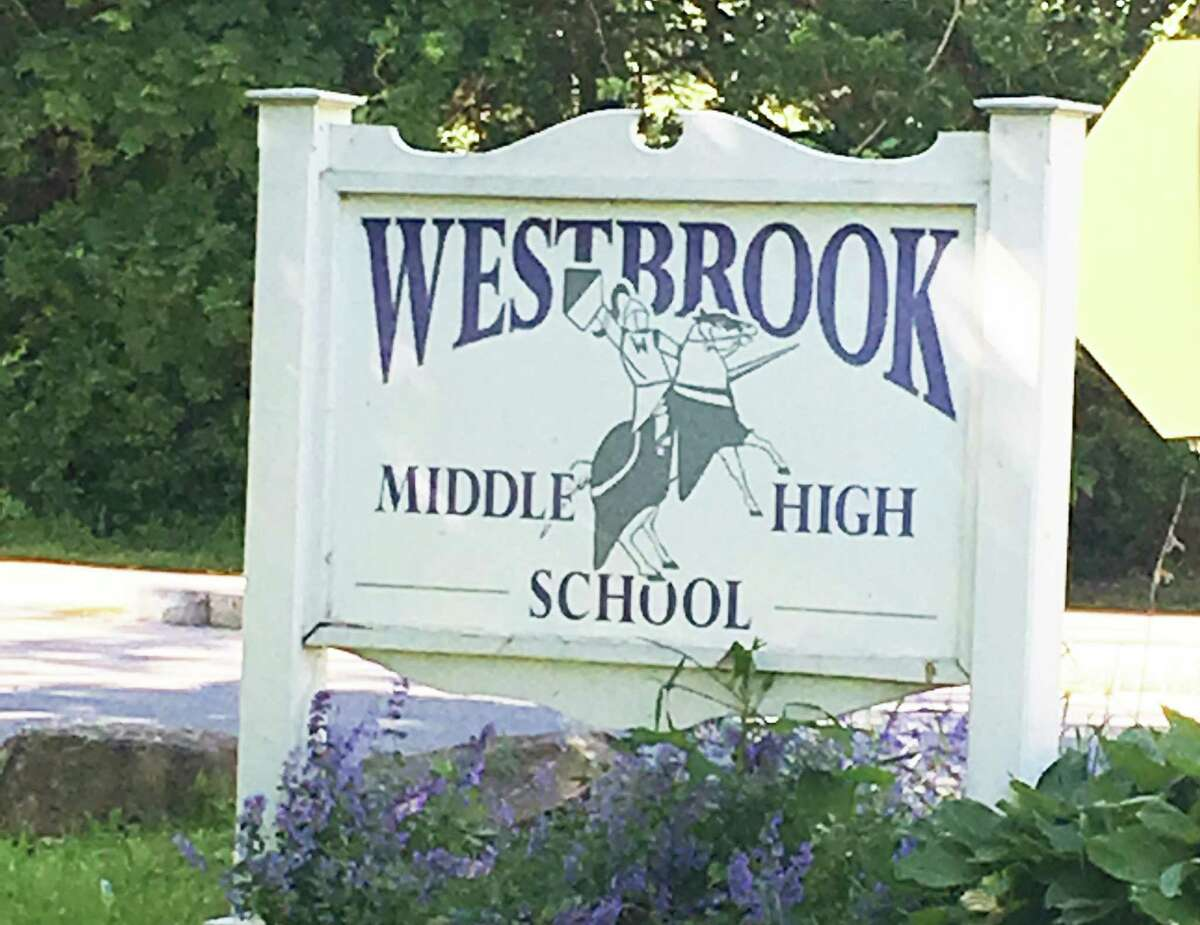 Westbrook middle and high schools are located at 154 and 156 McVeagh Road. The district will be requiring students and staff to continue wearing masks this fall.