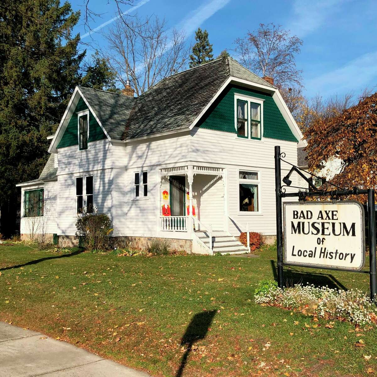 Commemorative bricks sold as a fundraiser by the Bad Axe Historical Society are nearing an installation date at the Allen House. (Bad Axe Historical Society/Courtesy Photo)