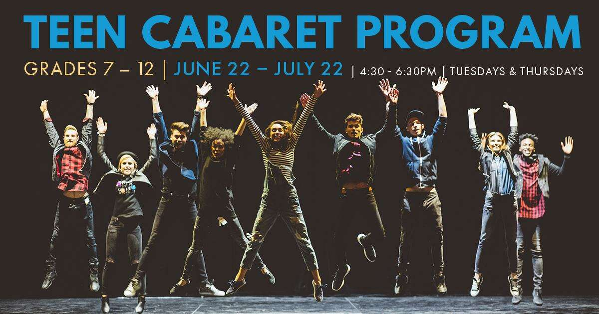 Blue Fire Stage Company in Haddam is offering a teen cabaret program this year.
