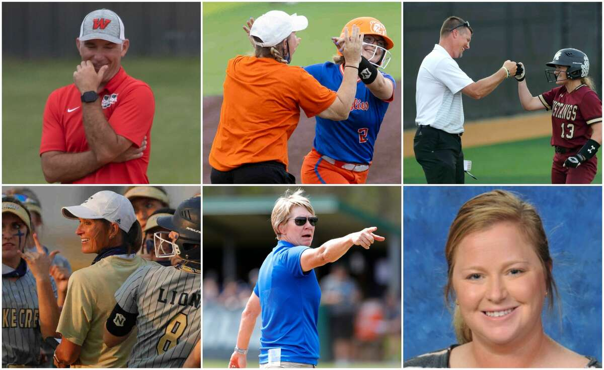 Tim Borths (The Woodlands), Amanda Brimberry (Grand Oaks), Jeremy Collins (Magnolia West), Michelle Rochinski (Lake Creek), Stephani Rougeau (Oak Ridge) and Anna Whiddon (New Caney) are nominees for The Courier's Coach of the Year.