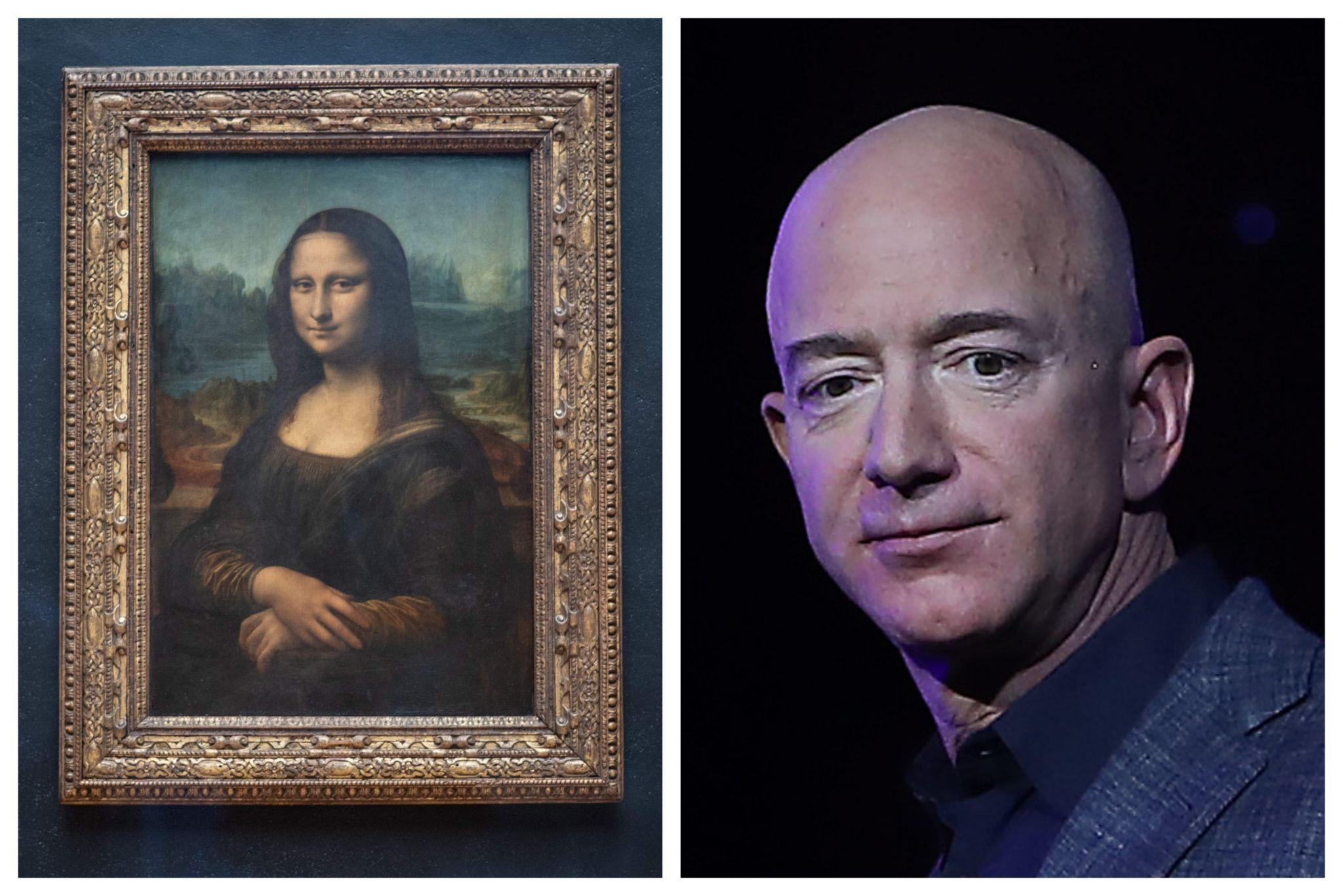 The Internet wants Jeff Bezos to buy and eat the Mona Lisa