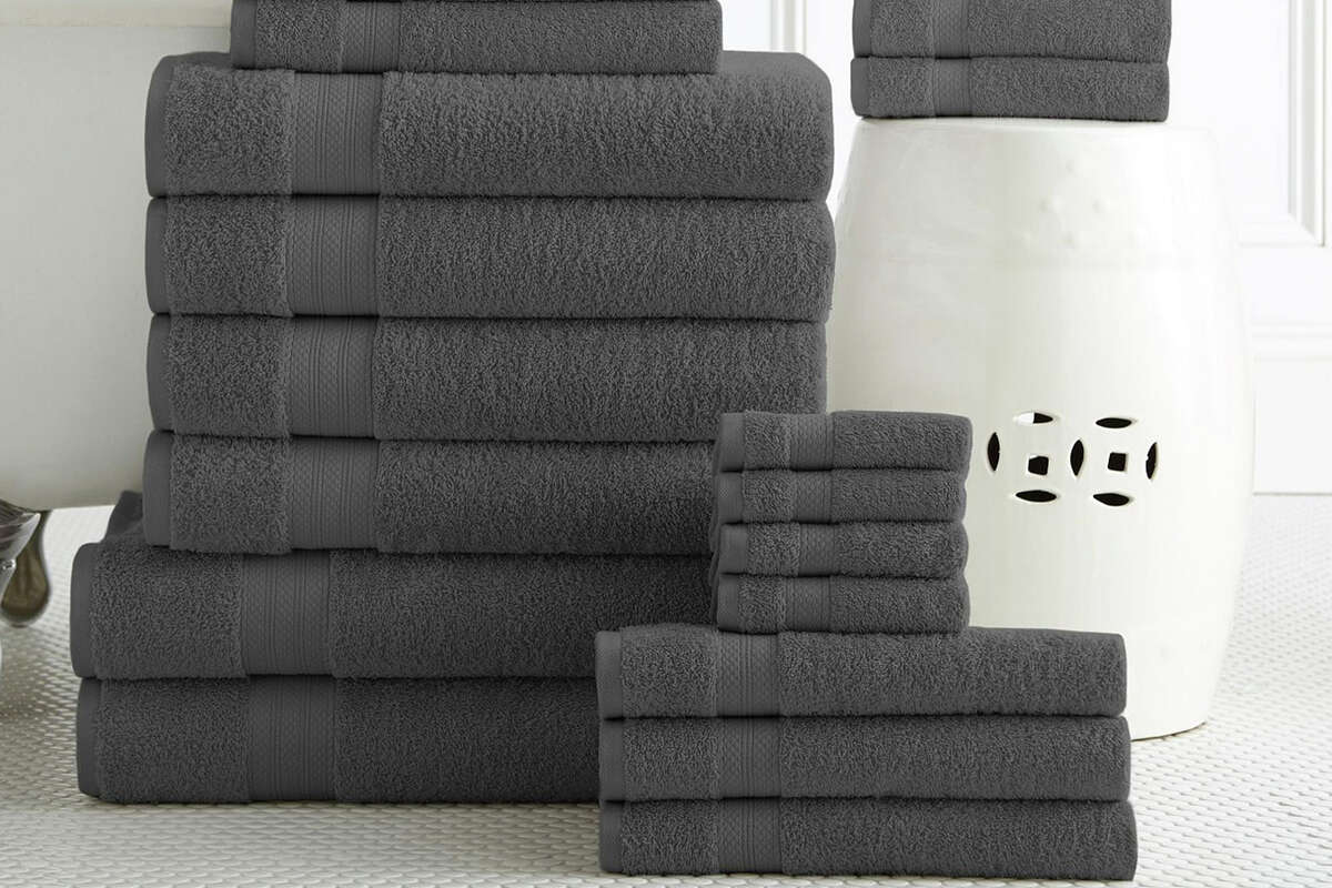 Addy Home Luxury 100% Plush Cotton 24PC Bath Towel Set