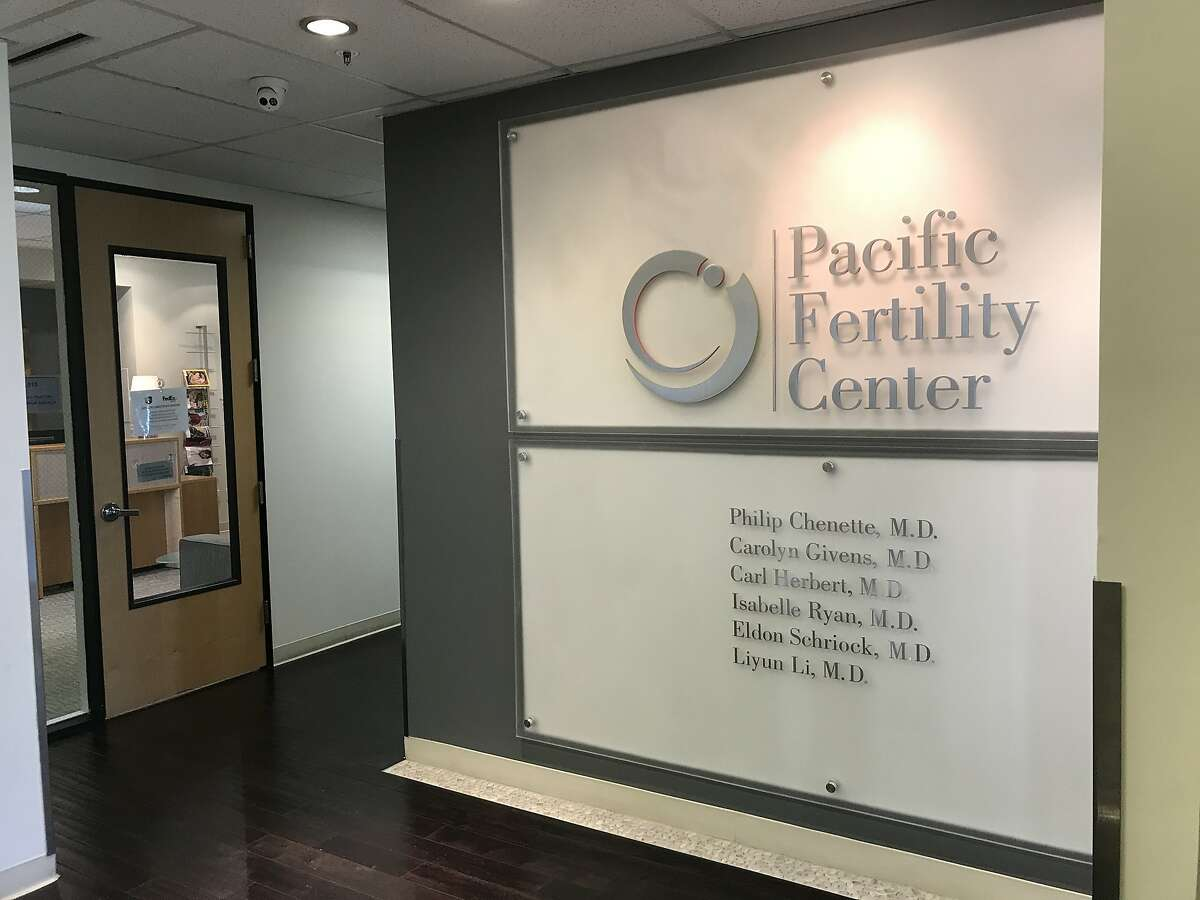 The Pacific Fertility Center office in San Francisco. Five people who lost eggs and embryos as a result of a cryogenic tank malfunction at the clinic in 2018 were awarded nearly $15 million in damages by a federal jury.