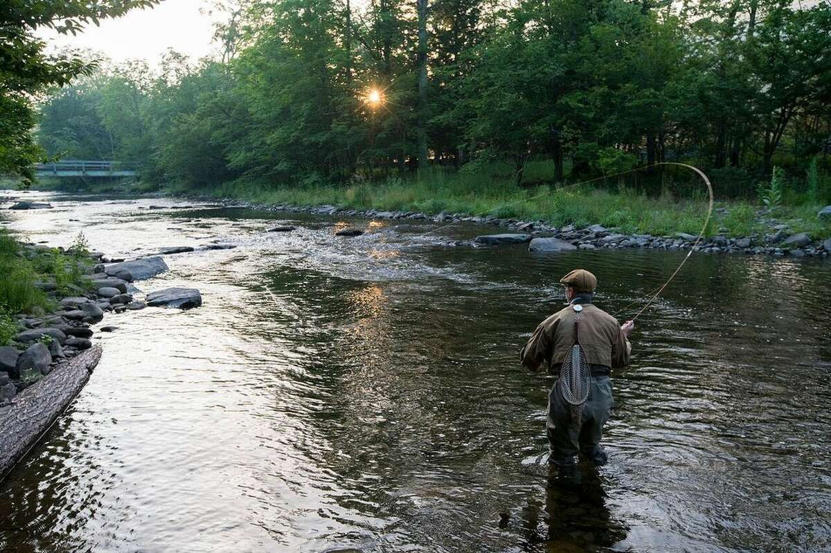 No need to hop on a plane for a serious adventure: Livingston Manor is home to a legendary trout stream that's considered the birthplace of American fly fishing and there are more dude ranches than you'd expect in the region.