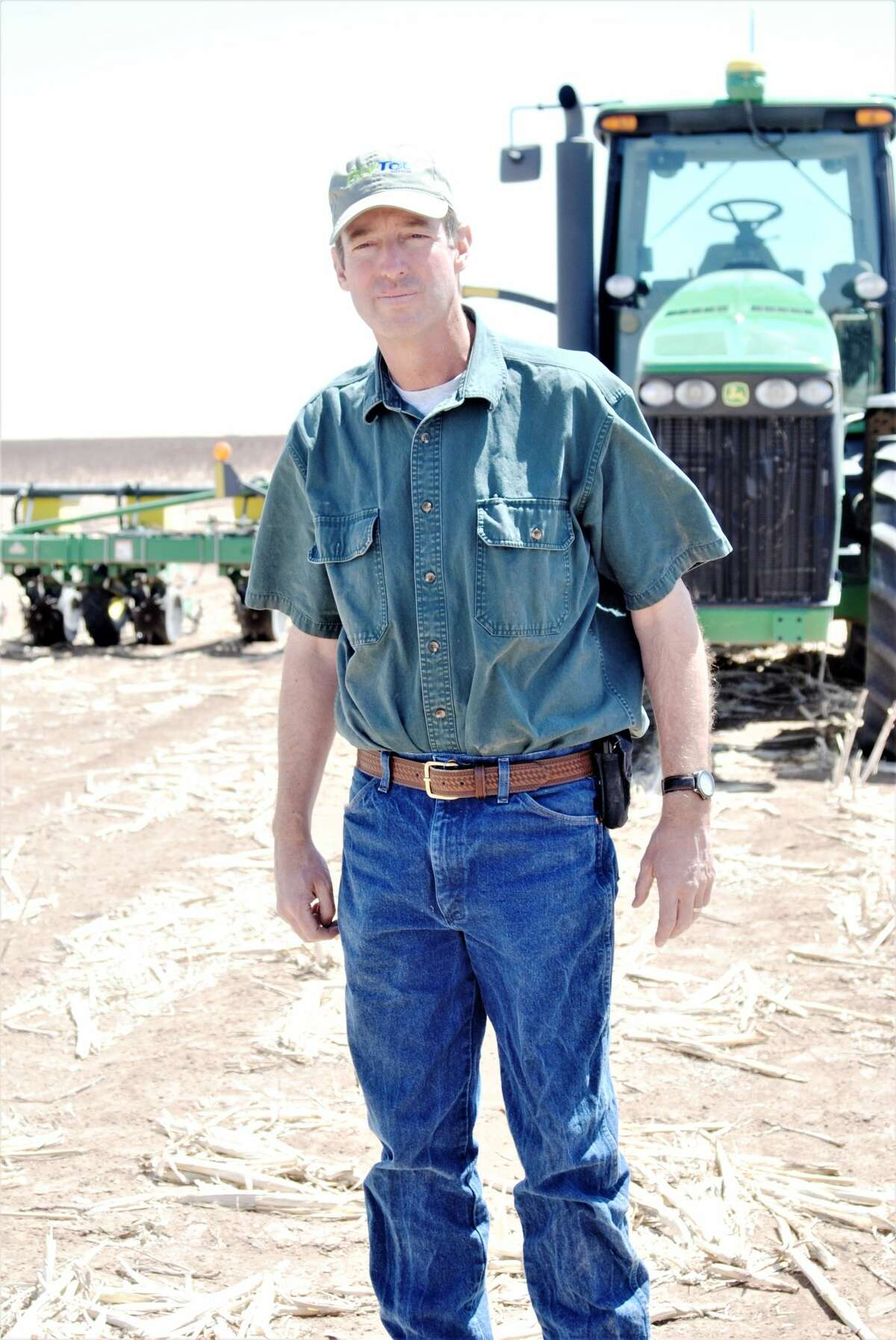 Barry Evans, whose farming is roughly 85 percent rain fed, will be a featured speaker at a Saving Our Aquifer field day upcoming June 30 at Kress, sponsored by Ogallala Commons, the High Plains Underground Water Conservation District, and the Dixon Water Foundation.