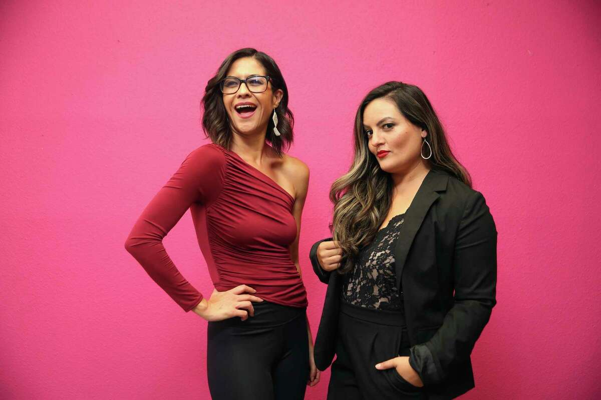 """Nina Duran, left, and Samantha Najera, launched the comedy web show, """"Bean & Chisme,"""" as a humor platform to entertain and educate fellow Latinos."""