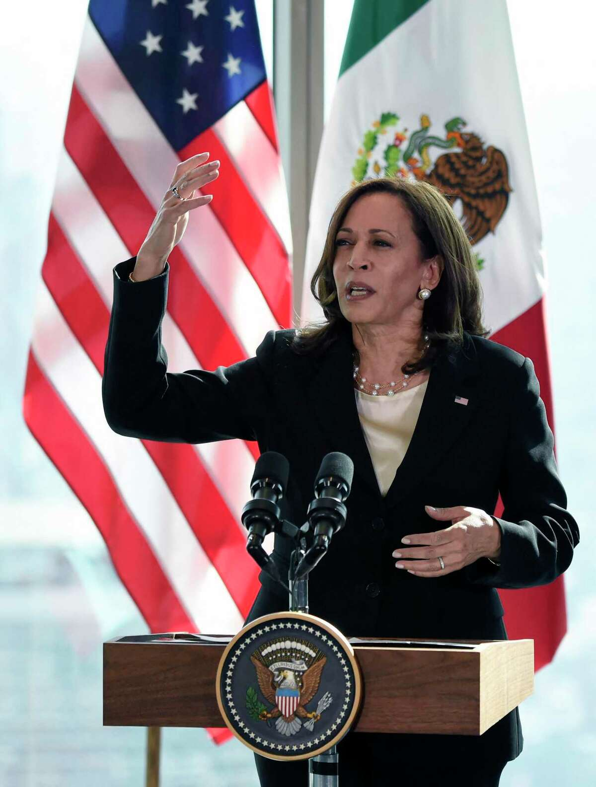 Vice President Kamala Harris has been criticized for her remarks in Central America and for not visiting the U.S.-Mexico border. A reader suggests some compassion.