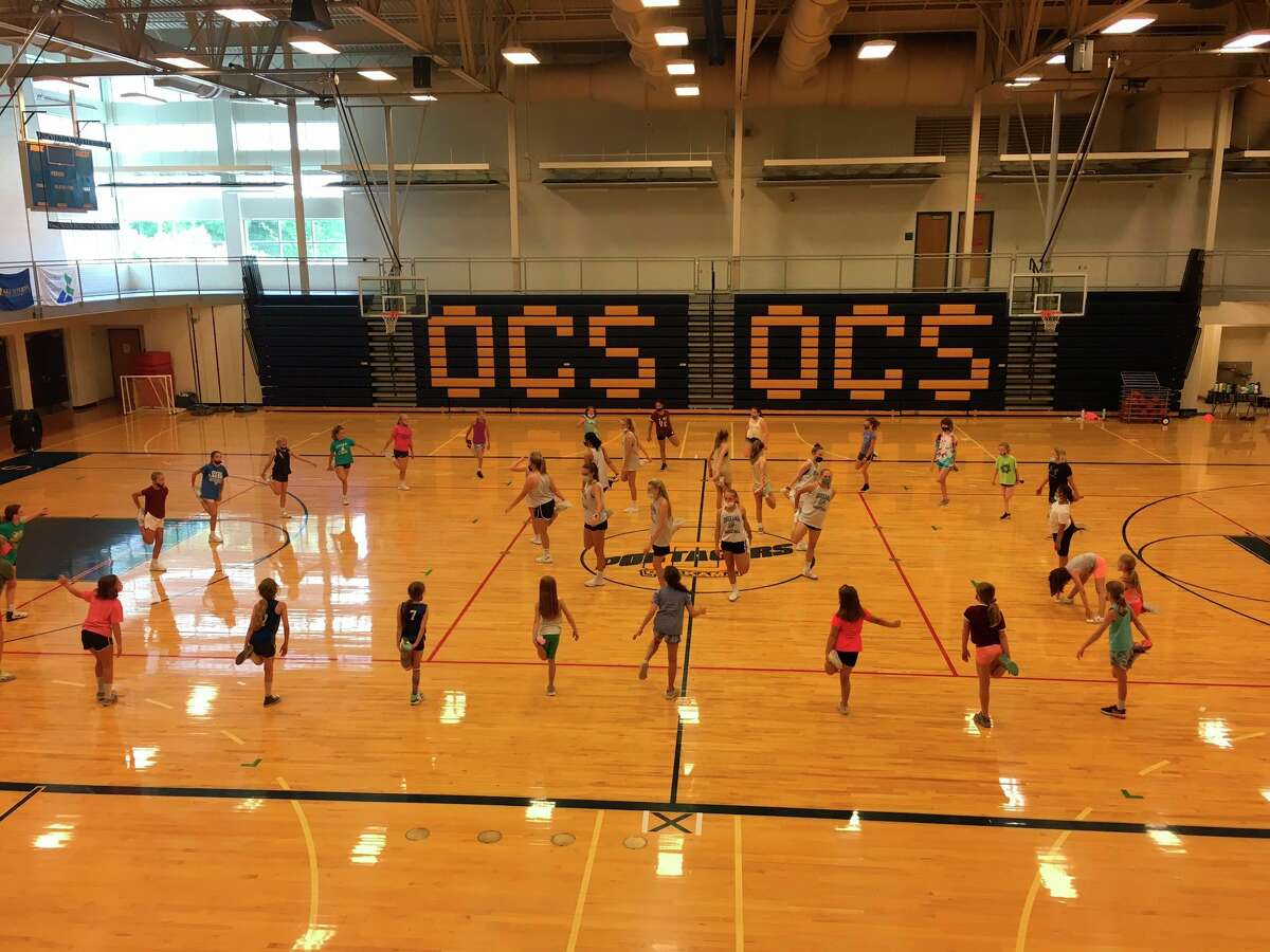 Onekama provides a basketball camp for third through seventh graders. (Courtesy photo)