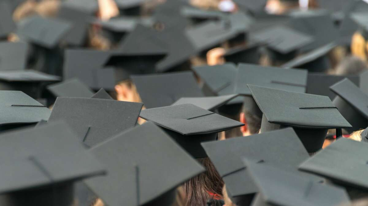 While the social media scrollers may be getting a kick out of a Clark High School graduation moment in which a student tossed confetti and air kisses while revealing a lingerie set beneath their gown, Northside Independent School District was less than amused.