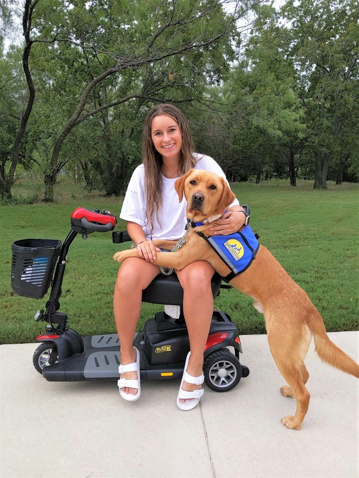 The grants that were awarded in early June included Canine Companions for Independence.