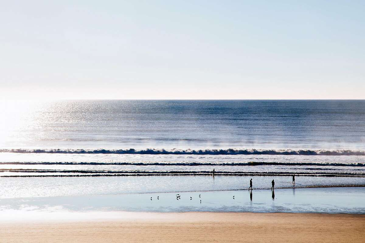 At Pismo Beach in San Luis Obispo County, the Pacific Ocean comes into view for the first time since the Golden Gate during a trip south Highway 101.