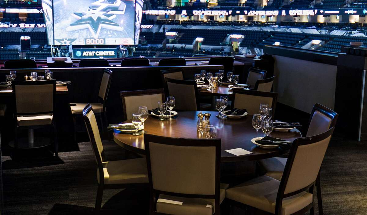 The AT&T Center's new intimate venue, Terrace Club