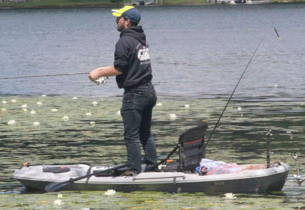 Anglers will be out in full force today to enjoy free fishing weekend. (Pioneer file photo)