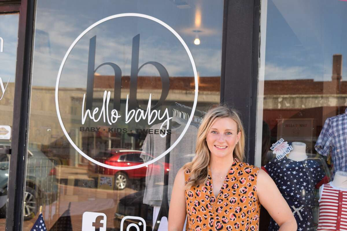 Hello Baby owner Terra James officially became the second recipient of a Downtown TIRZ grant following unanimous City Council approval on Tuesday, June 8, 2021. The funding will be used for renovations to her new store front, which she hopes to open in November.