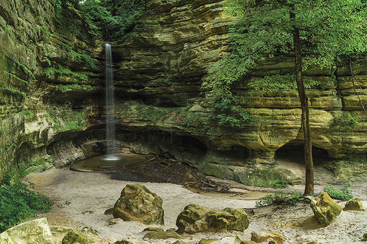 Starved Rock State Park in Illinois. The state is spending around $15 million in advertising this summer, double the usual amount, to promote destinations across Illinois.