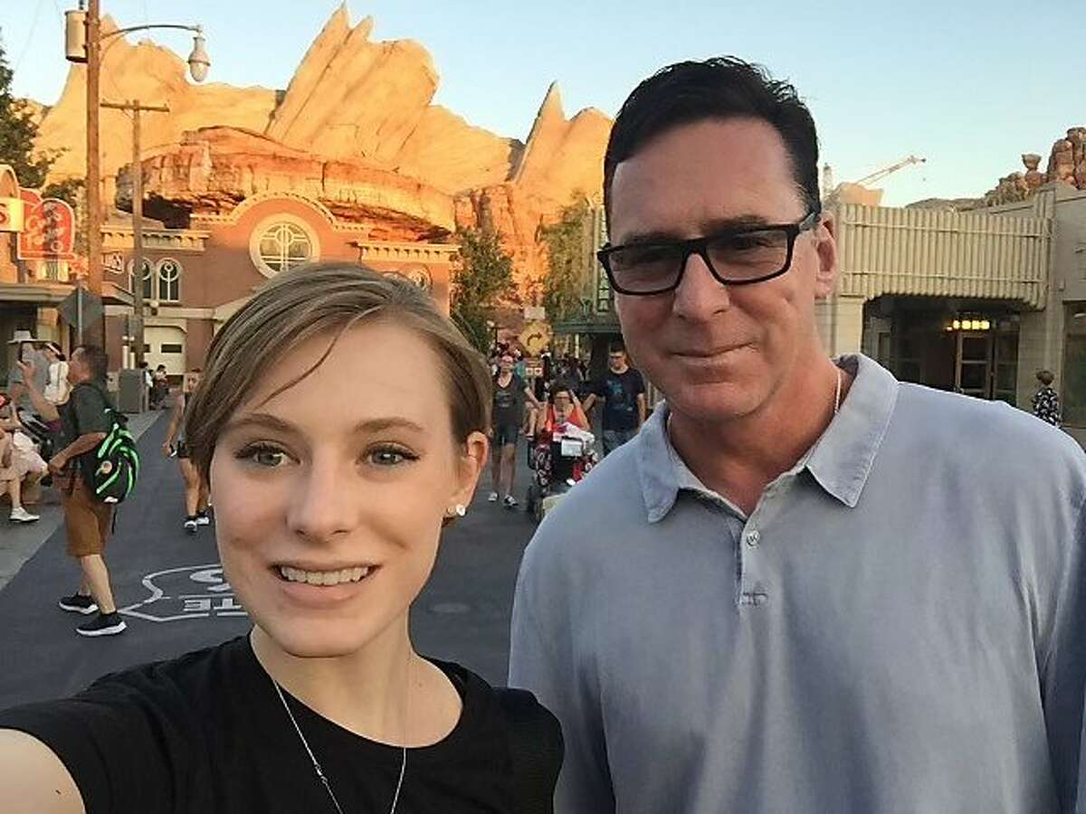 Alexi Melvin and her father, Oakland Athletics manager Bob Melvin.